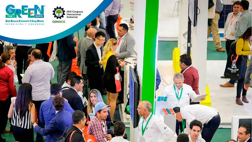 The green expo aquatech mexico 2018
