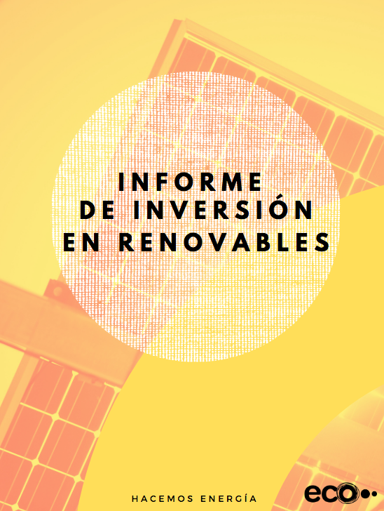 informe inversion en renovables